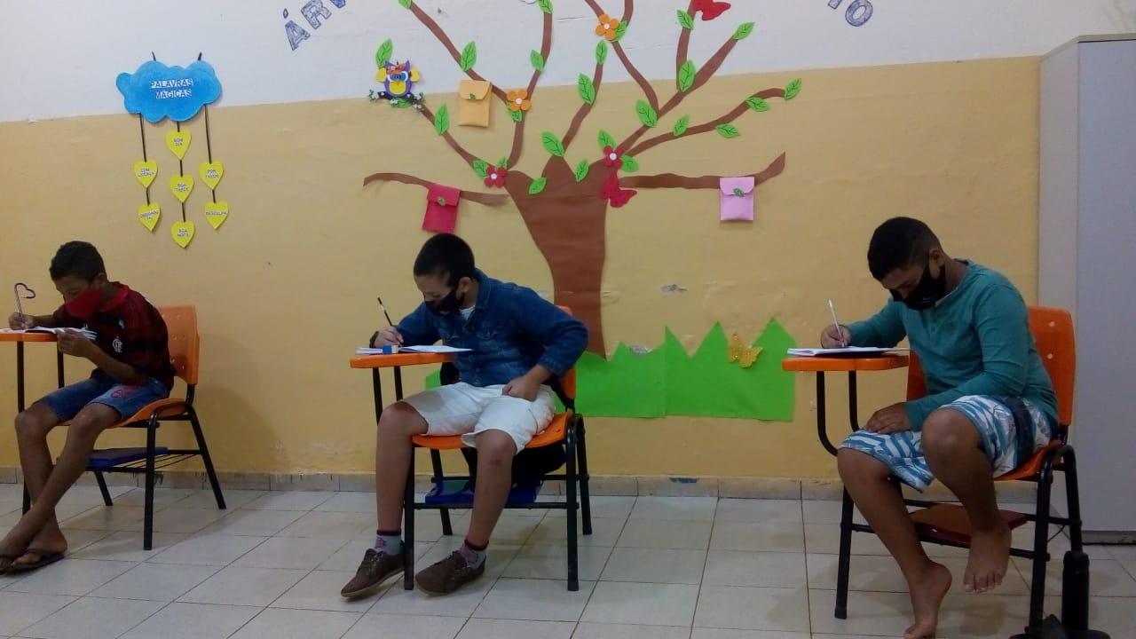 Atividades em sala de aula