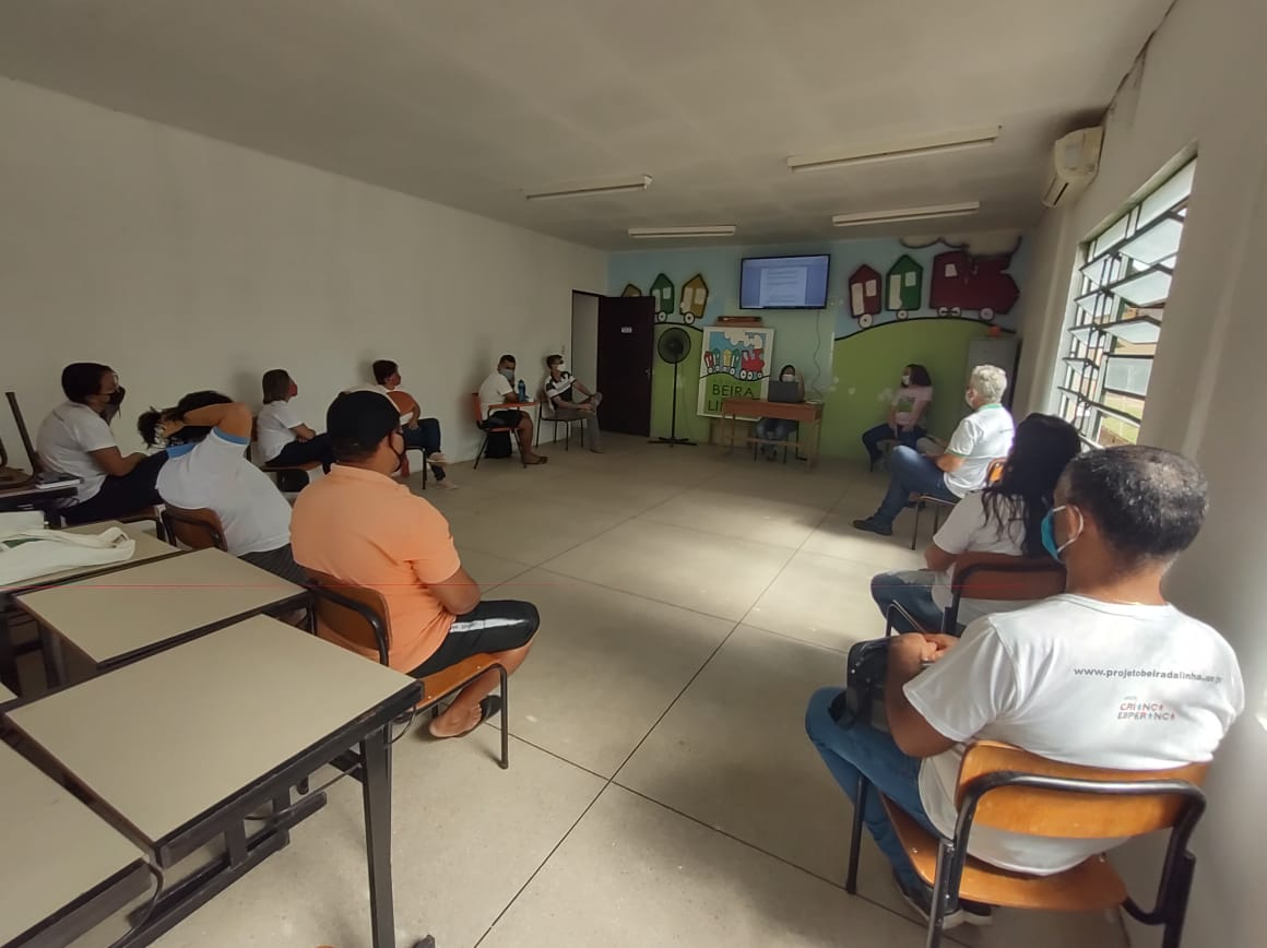 Preparação para o programa Itaú Unicef