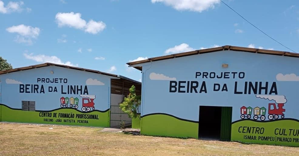 Renovação da pintura do Projeto Beira da Linha